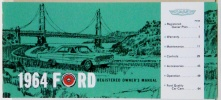 1964 Ford Car Owners Manual