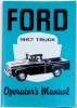 1957 Ford Truck Owners Manual