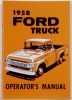 1958-Ford Truck Owners Manual