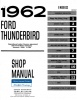 1962-1963 Ford Thunderbird Repair Manual