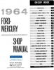 1964 Ford and Mercury Repair Manual