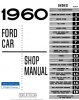 1960 Ford Car Repair Manual