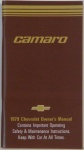 1979 Camaro Owners Manual