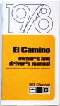 1978 El Camino Owners Manual