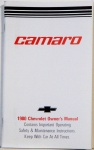 1980 Camaro Owners Manual
