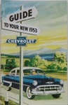1953 Chevy Car Owners Manual