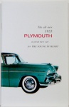 1955 Plymouth Owners Manual