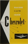 1959 Chevy Car Owners Manual / El Camino Owners Manual
