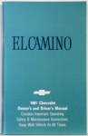 1981 El Camino Owners Manual