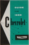 1958 Chevy Car Owners Manual