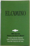 1980 El Camino Owners Manual
