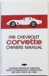 1981 Corvette Owners Manual