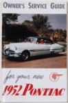 1952 Pontiac Owner's Manual