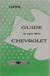 1955 Chevy Car Owners Manual