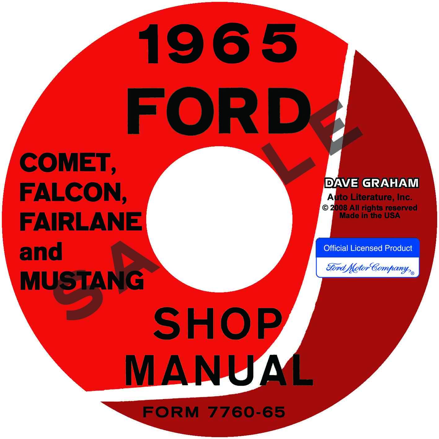 65 mustang repair manual